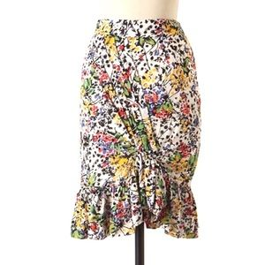 Anthropologie Edme Esyllte Hustle Bustle skirt 8